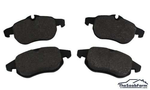 Remblokken (set) Voor Saab 9-3 03- 285/302mm Schijven, Origineel