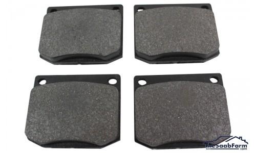 Remblokken (set) Voorzijde Saab 99 75-, 90, 900 -87