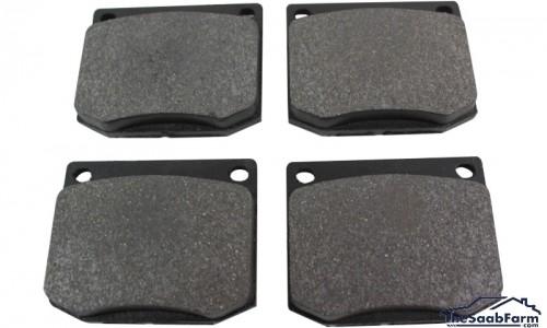 Remblokken (set) Voorzijde Saab 99 75-, 90, 900 -87, Optimal