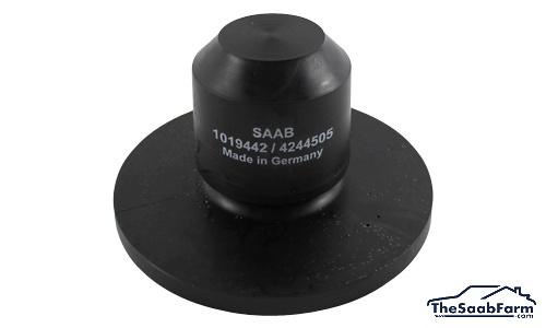 Doorslagrubber, Achterzijde Saab 900 94-, 9-3 -03