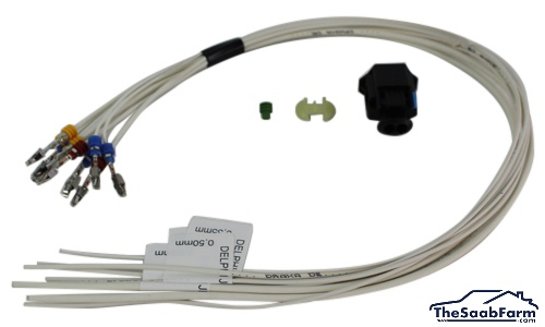 Kabelreparatieset, Injector Saab 9-5 07-10, 9-3 03- 1.9 TiD, Origineel
