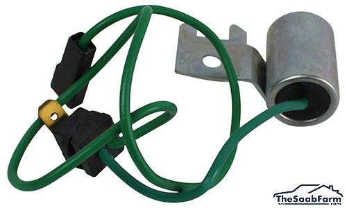 Condensator, Ontsteking Saab 99 77-81