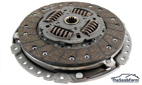Koppelingsset 6 Versnelling Saab 9-3 03- B207 / D223L / BioPower, Origineel