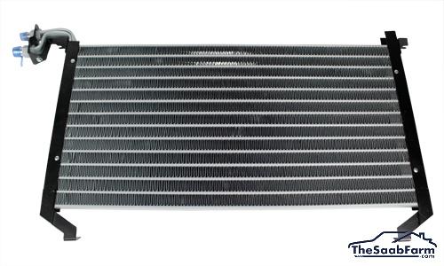 Condensor, Airconditioning Saab 900 -93, Nissens