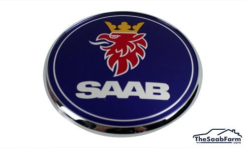 Embleem/Logo 'Saab' Motorkap Saab 9-5 -10, 9-3 03-, 9-4X, 9-7X, Origineel