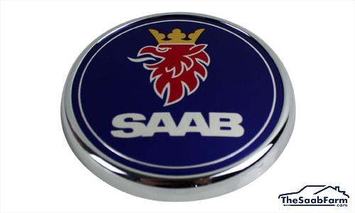 Embleem/Logo 'Saab' Achterklep Saab 9-3 04-12, Origineel