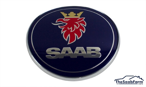 Embleem/Logo 'Saab' Achterklep Saab 9-3 -03 Cabrio