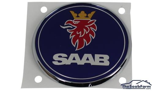 Embleem/Logo 'Saab' Achterklep Saab 9-5 06-10 4d , Origineel