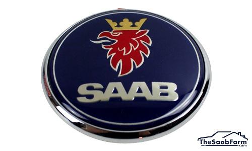 Embleem/Logo 'Saab' Achterklep Saab 9-5 99-05 5d , Origineel
