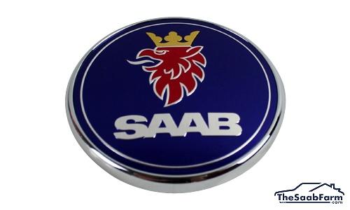 Embleem/Logo 'Saab' Achterklep Saab 9-3 03-07 4d , Origineel