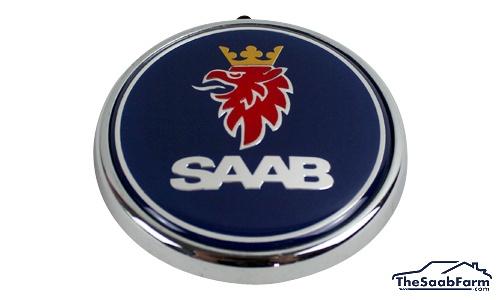 Embleem/Logo 'Saab' Achterklep Saab 9-3 04-11 CV, 06-11 5d, 08-12 4d