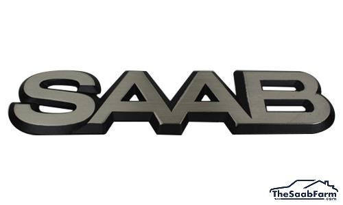 Embleem/Logo Achterklep SAAB Saab 900 -93