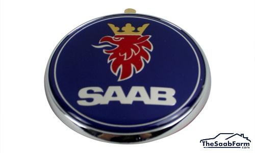 Embleem/Logo 'Saab' Achterklep Saab 9-5 01-05 4d