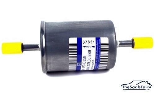Brandstoffilter Saab 9-5-10, 9-3 03-, B205 / B207 / B235, Origineel