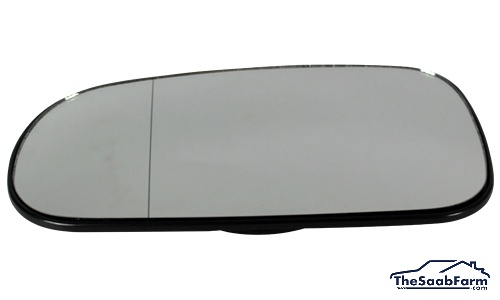 Buitenspiegelglas Links Saab 9-5 03-10, 9-3 03-, Origineel