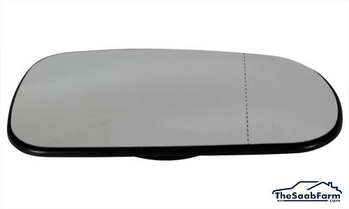 Buitenspiegelglas Rechts Saab 9-5 03-10, 9-3 03-, Origineel
