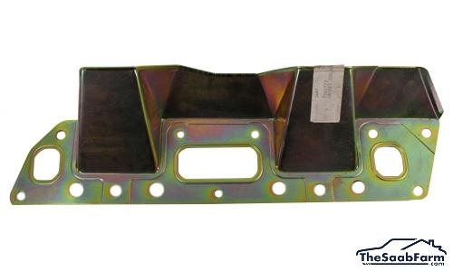 Hitteschild, Uitlaatspruitstuk Saab 99 81-, 90, 900 -89 B201, Origineel