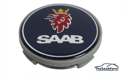 Wielnaafkap voor Aluminium Velg Saab 9-3 01-03, 9-5 01-10, 9-3 03-