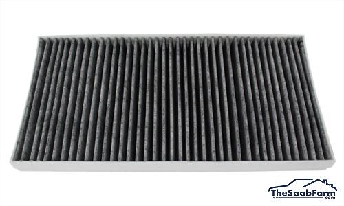 Interieurfilter Carbon, Saab 9-3 03-, Origineel