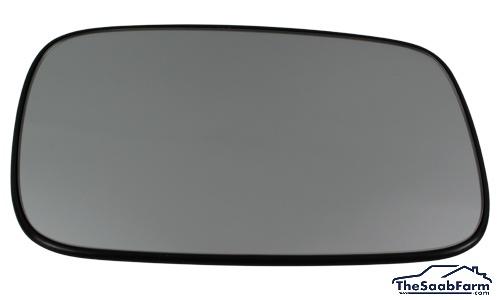 Buitenspiegelglas Rechts Verwarmd Saab 900 94-, 9-3 -03, Origineel