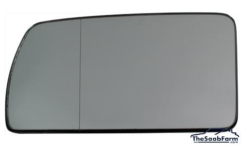Buitenspiegelglas Links Saab 9000 85-, Origineel