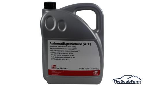 Versnellingsbakolie, 5-Traps Automaat, 5 liter, Saab 9-5 04-, 9-3 04-, Febi Bilstein