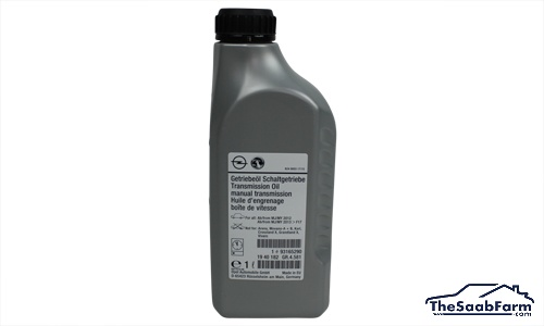 Versnellingsbakolie, Handgeschakeld 1 liter, Saab 900 94-, 9000, 9-3 -03, 9-5 -10, 9-3 03-, 9-5 10-, Origineel