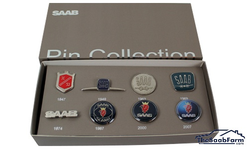 Saab Pin Collectie
