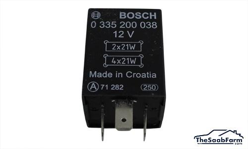 Relais, Richtingaanwijzer Saab 900 -93, 9000 85-91, Bosch