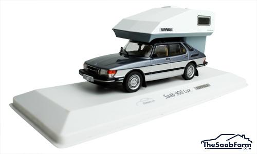 Saab 900 Lux 1984 + Toppola, Dimini 1:43