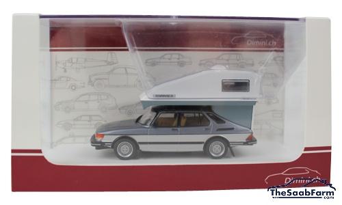 Saab 900 Lux 1984 + Toppola Dimini 1:43