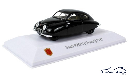 Saab 92001 (Ursaab) 1947, Saab Car Museum Collection 1:43