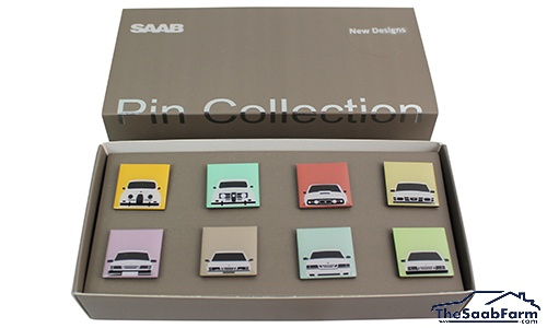 Saab Icons Pin Collectie