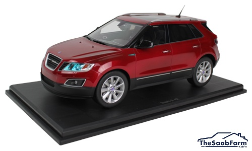Saab 9-4X 2011 DNA Collectibles 1:18