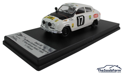 Saab 96 1964 '17' East African Safari Rally P.Moss-Carlsson / J.Mayers, Troféu 1:43