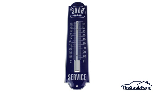 Emaille Thermometer Saab