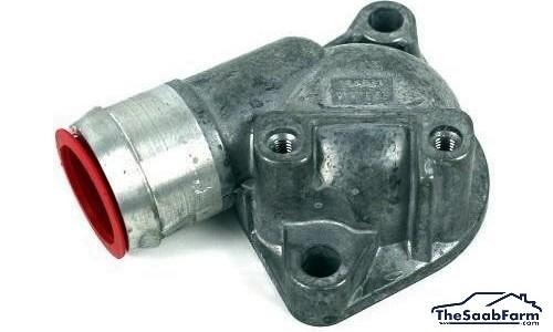 Behuizing, Thermostaat Saab 9000 94-, 900 94-, 9-3 -03, 9-5 -10, Origineel
