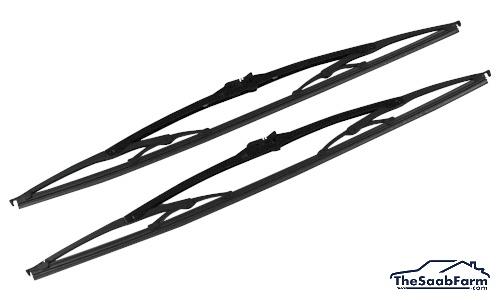 Ruitenwissers (set) Saab 9000 -98, 900 94-, 9-3 -03